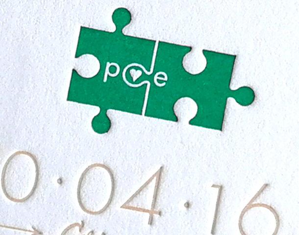 invito di matrimonio puzzle